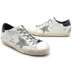 GOLDEN GOOSE 골든구스 여성 슈퍼스타 블루탭 SUPERSTAR GCOWS590 A7 WHITE BLUE CREAM