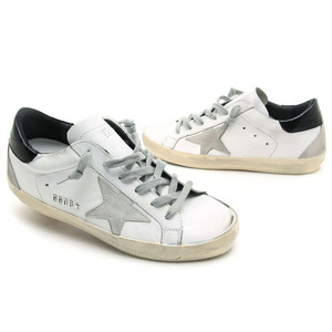 GOLDEN GOOSE 골든구스 여성 슈퍼스타 블랙탭 SUPERSTAR GCOWS590 W55 WHITE/BLACK