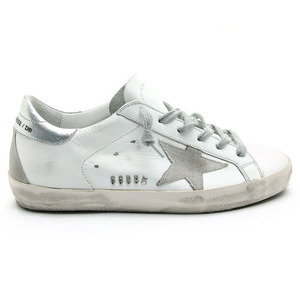 GOLDEN GOOSE 골든구스 여성 슈퍼스타 실버탭 SUPERSTAR GCOWS590 W77 WHITE/SILVER